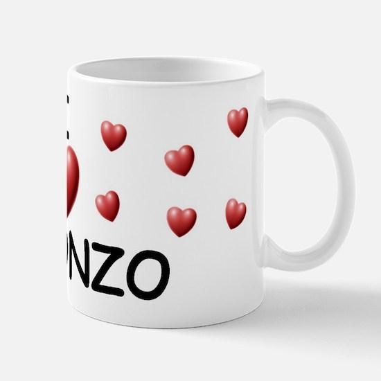 I Love Alfonzo - Mug