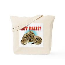 Python Snake - Got Balls Tote Bag
