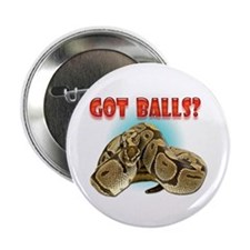 "Python Snake - Got Balls 2.25"" Button"