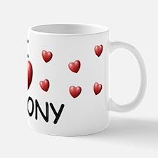 I Love Antony - Mug