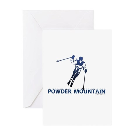 POWDER MOUNTAIN Greeting Card