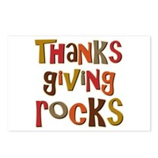 Thanksgiving Rocks Postcards (Package of 8)