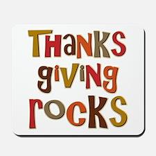 Thanksgiving Rocks Mousepad