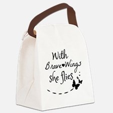 Funny Strong Canvas Lunch Bag