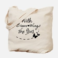 Cute Wings Tote Bag