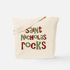 Saint Nicholas Rocks Tote Bag