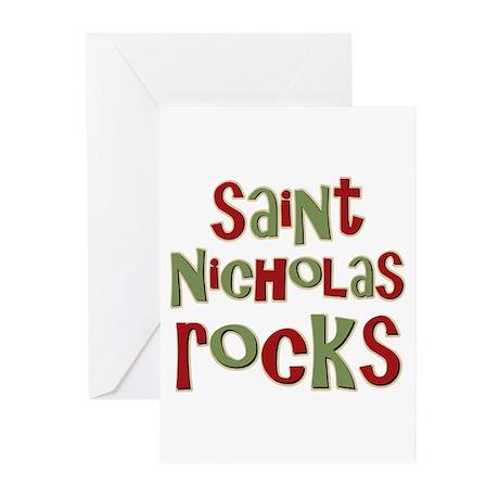 Saint Nicholas Rocks Greeting Cards (Pk of 10)