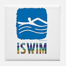 ISWIM Tile Coaster