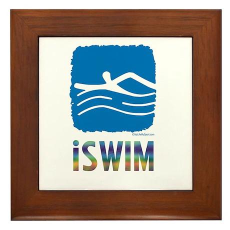 ISWIM Framed Tile