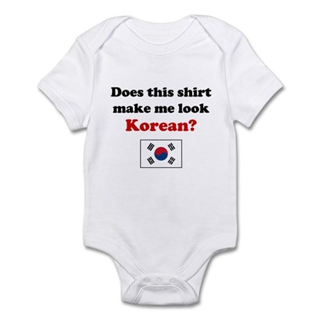 Make Me Look Korean Infant Bodysuit