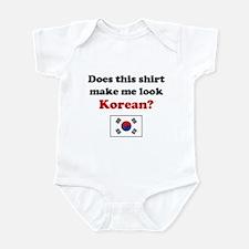 Make Me Look Korean Onesie