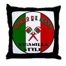 Escamilla Cinco De Mayo Throw Pillow