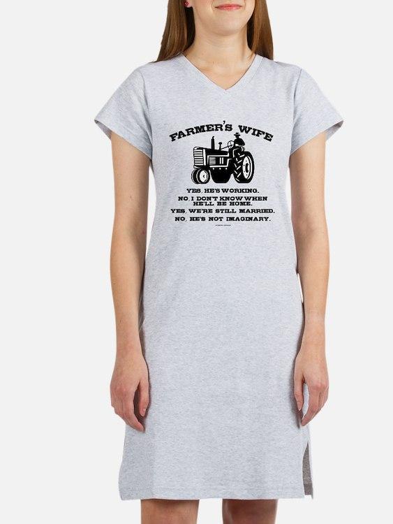 Cute Farmers Women's Nightshirt