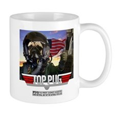 Top PugT shirt copy Mugs