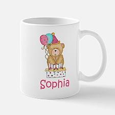 Sophia's Birthday Bear Mug