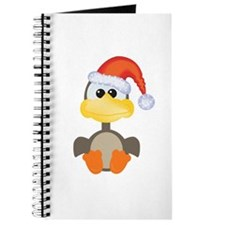 Cute Christmas Goose Santa Journal