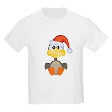 Cute Christmas Goose Santa T-Shirt