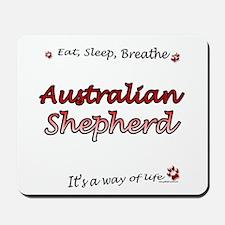 Aussie Shepherd Breathe Mousepad