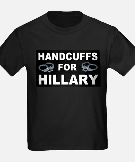 Handcuffs for Hillary! T