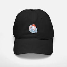 Cute Christmas Elephant Santa Baseball Hat