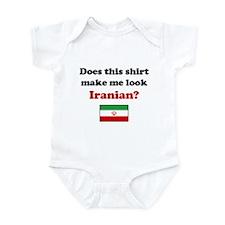 Make Me Look Iranian Infant Bodysuit