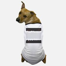 Hot Copyspace Honeycomb Dog T-Shirt