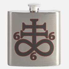 Unique Satanism Flask