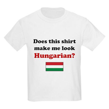 Make Me Look Hungarian Kids Light T-Shirt