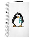 Teal Ribbon Penguin Journal