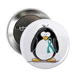 Teal Ribbon Penguin 2.25