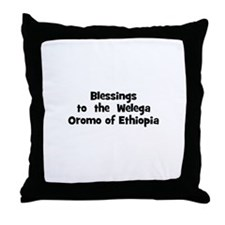 Blessings  to  the  Welega Or Throw Pillow