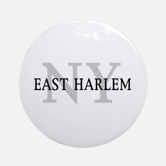East Harlem New York Ornament (Round)