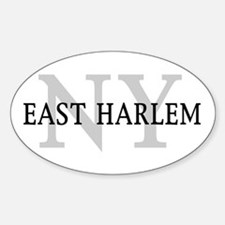 East Harlem New York Oval Decal