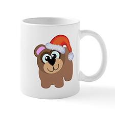 Cute Christmas Santa Bear Mug
