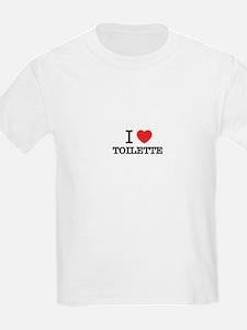 I Love TOILETTE T-Shirt