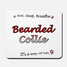Bearded Breathe Mousepad