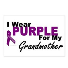 I Wear Purple For My Grandmother 3 (PC) Postcards
