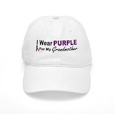 I Wear Purple For My Grandmother 3 (PC) Baseball Cap