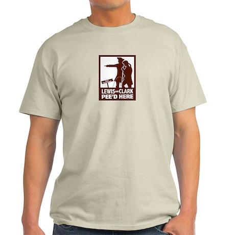 LewisClarkPee T-Shirt