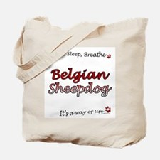 Belgian Sheep Breathe Tote Bag