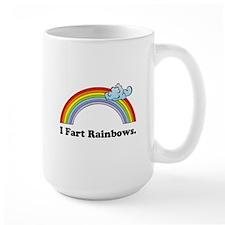 I Fart Rainbows. Mug