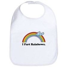 I Fart Rainbows. Bib