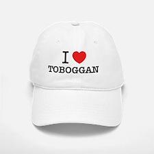 I Love TOBOGGAN Baseball Baseball Cap