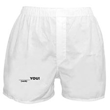 Funny Blank Boxer Shorts