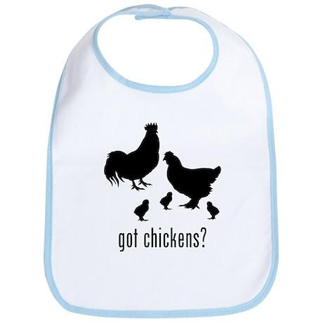 Chickens Bib