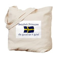 Swedish Princess Tote Bag