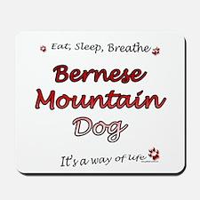 Bernese Breathe Mousepad