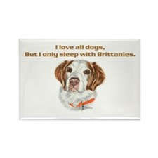 Sleep with Brittany Rectangle Magnet