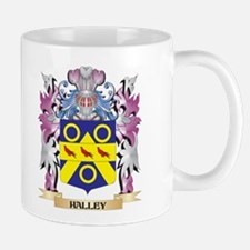 Halley Coat of Arms (Family Crest) Mugs