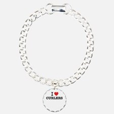 I Love CURLERS Bracelet